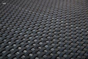 Balkonverkleidung Sichtschutz Meterware Balkonsichtschutz Polyrattan Balkonbespannung Sichtschutzmatte Windschutz Zaunblende Rattan RD03 anthrazit 90 cm