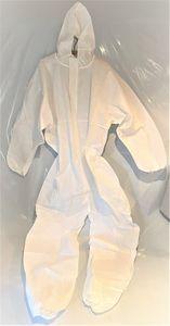 DUPONT Einweganzug Einweg-Overall Schutzanzug Schutz-Anzug KAT 3 Typ 5/6 weiß, Größe:XXL