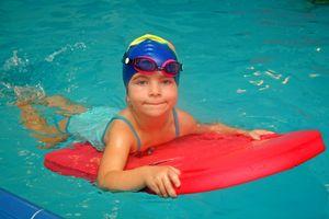 Schwimmbrett Minisurf 750x400x38 mm für Baby, Kinder und Erwachsene ROT