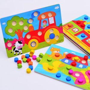 Farbe Erkenntnis Bord Montessori Pädagogisches Spielzeug Für Kinder Holz Spielzeug Puzzle Kinder Früh Lernen Farbe Spiel spiel