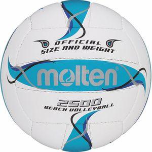 molten Beachvolley Trainingsball BV2500-FBO weiß 5