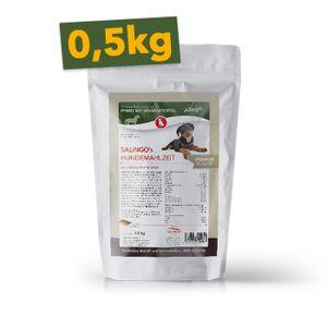 SALiNGO Premium Trockenfutter für Hunde   Hundefutter Pferd mit Süßkartoffel   getreidefrei   83% Fleischanteil   Single Protein   hypoallergen   0,5 kg