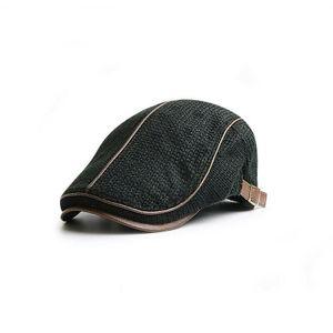 Herren Barett Hüte Schiebermütze Efeu Cabbie Baskenmütze Newsboy Winter Mütze