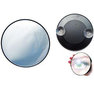 Saugnapf Spiegel mit 15-fach Vergrößerung, Kosmetikspiegel