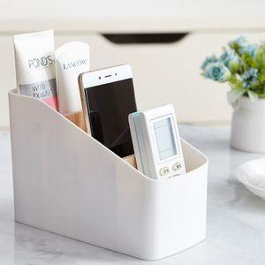 Multifunktionale Desktop-Aufbewahrungsbox Wohnzimmer-Fernbedienungsregal Mehrzellen-Aufbewahrungsbox aus Holz