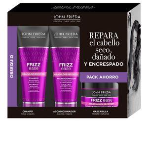 John Frieda Frizz Ease Intensive Strengthening Mask 250ml Set 3 Artikel
