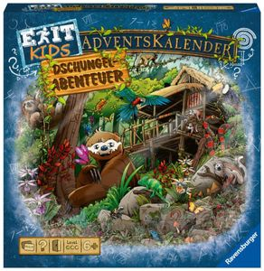 Ravensburger 18957 Adventskalender kids - Dschungel-Abenteuer