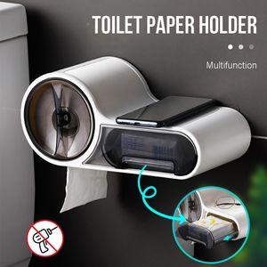 Wasserdicht Toilettenpapierhalter WC Wandhalter Klopapierhalter Wandpapierbox