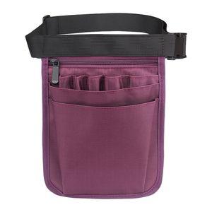Schwesterntasche Gürteltasche Extra Tasche Quick Pick Organizer Tasche Farbe Lila
