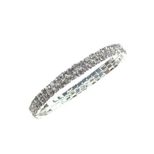 10 Serviettenringe Diamantband Ø ca 5,5-8 cm Gummizug Armband Diamantarmband
