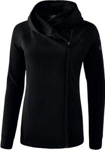 erima Essential Kapuzenjacke Damen black/grey 40