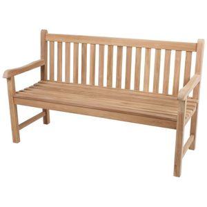 Garden Pleasure Teak Garten Bank Solo 3-Sitzer Sitzbank Essbank Möbel
