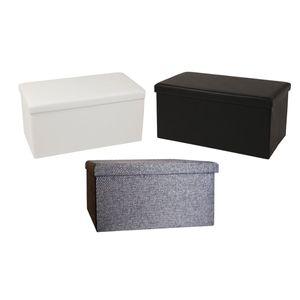 Echtwerk Sitzbank/Aufbewahrungsbox 'SeatBox' , Farbe:Grau