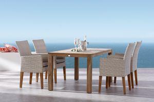 Best Gartenmöbelgarnitur 5-tlg. Alicante+Moretti 160x90cm; 95150106