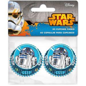 Stor - Mini Papierbackförmchen Star Wars  60 Stück