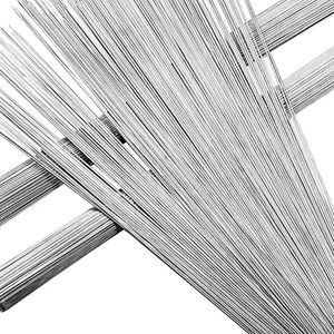 Mllaid Runde Braten Grillspieße Nadelspieß 50/100 Stück Edelstahl BBQ Grillspieße Küchenwerkzeuge für Outdoor Home Camping Picknick Werkzeuge