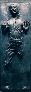 Star Wars Poster Han Solo Carbonite - Langbahnposter