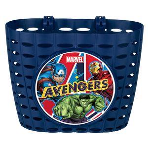 Disney Avengersfahrradkorb Junior 20 cm blau