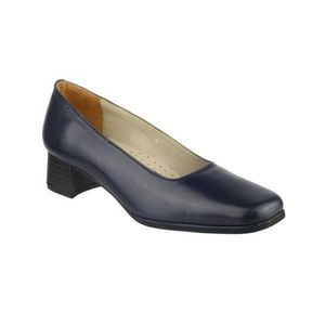 Amblers Walford Damen Leder Pumps / Damen Schuhe FS218 (38 EUR) (Marineblau)