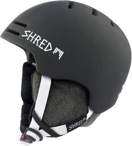 Shred Slam-Cap Noshock Blk. Snowboard Helm Größe L Skihelm In Schwarz