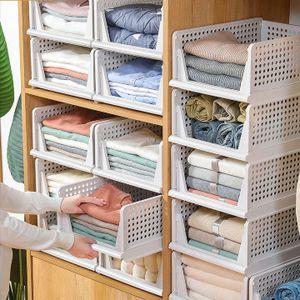 Schubladenbox 3er Kleiderschrank Schubladen Organizer Aufbewahrungskorb Regel