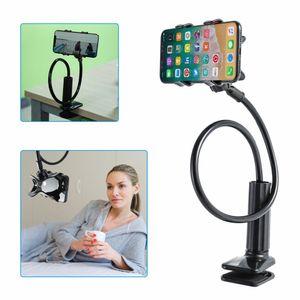 Universal Halterung Tisch Bett Schwanenhals Halter für Smartphone Handy Tablet Schwanenhals Handyhalter Handy Halterung