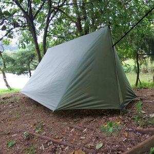 Camping Wasserdichte Zeltplanen Schutzplane Leicht Zeltunterlage Abdeckplane für 3 bis 4 Personen
