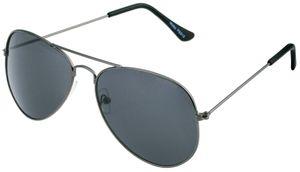 Piloten Brille Schwarz- Schwarz