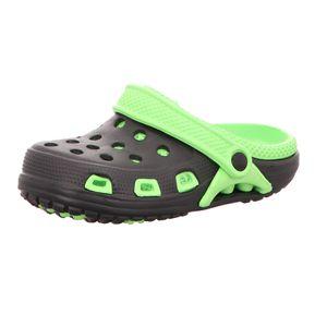 Sneakers Kinder-Badeschuh Schwarz-Grün, Farbe:schwarz, EU Größe:35