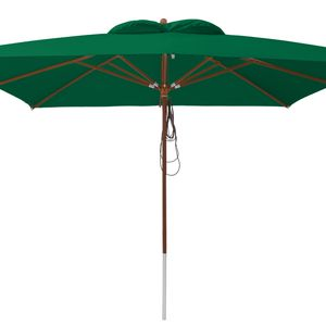 anndora Sonnenschirm 4x4 m - grün - Grün