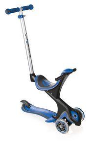 Scooter Kinderroller Dreirad Laufrad Globber Evo Comfort 5in1 blau