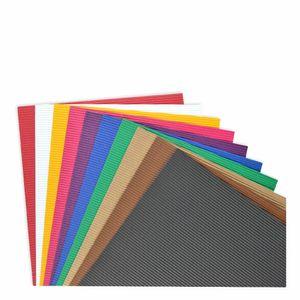 Creleo - Wellpappe 25 x 35 cm 10 Bogen sortiert