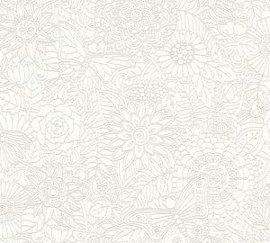 A.S. Création Vliestapete Club Tropicana Tapete weiß 10,05 m x 0,53 m 358161 35816-1