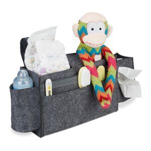relaxdays Betttasche für Hochbett aus Filz