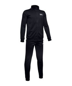 Under Armour Ua Knit Track Suit - black // white, Größe:M