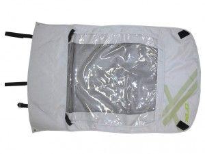 Verdeck 2in1 für Kinderanhänger XLC Duo² für XLC Duo² limone/ sil