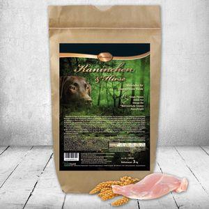 DOGREFORM Kaninchen u Hirse Premium 1,5 kg Trockenfutter Single Protein Glutenfrei Hypoallergen mit Omega-Öle und Nutrizeutische Zutaten für sensitive und allergische Hunde optimal geeignet