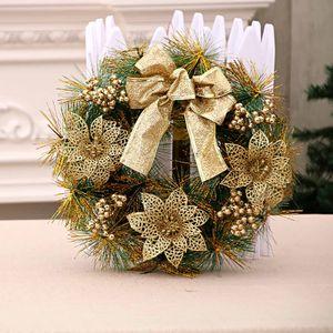 Kš¹nstliche Weihnachtsferien Kranz Beeren Schneeflocke Dekorationen
