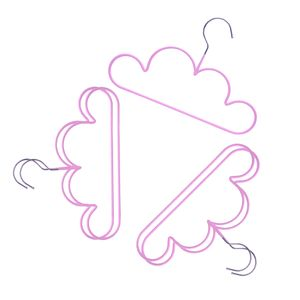 Cloud Form Kinder Kinder Kunststoff Kleiderbügel Kind Baby Kleiderbügel