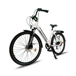 "Sidney Urbanbiker City E-Bike 26""  504 Wh Akku, Unisex City Pedelec 250W Motor  Farbe: Weiß"