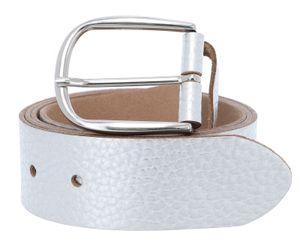 Vanzetti Glitter Radiance 40mm Metallic Belt W105 Silver Metallic