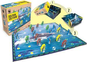 WWF Solitär 'Delfin' Gesellschaftsspiel Spiel Solitaire