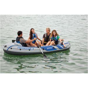 Intex 68324NP- Boot Schlauchboot Excursion 4 Set
