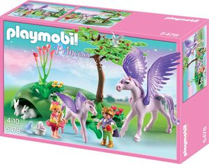 PLAYMOBIL 5478 Princess Königskinder beim Baby-Pegasus
