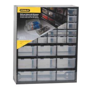 STANLEY Kleinteilemagazin mit 39 Fächern 37x44x16 cm  Lagersichtkasten  1-93-981