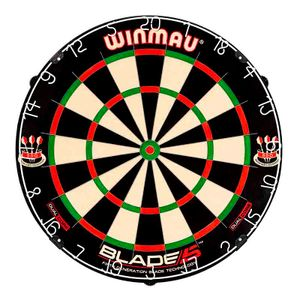 Winmau Blade 5 Dual Core Dartscheibe Bristle Dart Board Dartboard Turnierboard