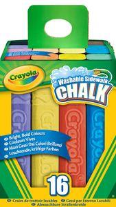 Crayola eckige Straßenkreide, 16 Stück