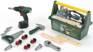 BOSCH Werkzeugkiste Tool Box mit Zubehör für Kinder