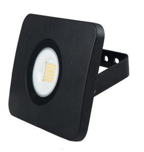 Heitronic LED Flutlichtstrahler Bolton 3000K IP65 in Schwarz 30W