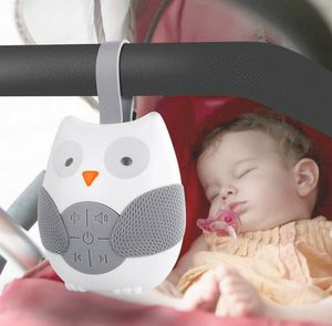 Owl Shape White Machine Baby Kinder Schnuller Schlafhelfer Sound Machine